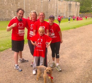 Market Appeal Runs The British Heart Foundation Charity Run
